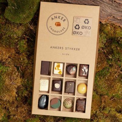 Anker Chokolade - 24 Stykker