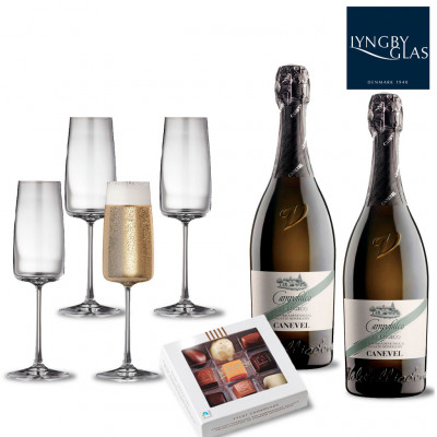 Lyngby Glas - Zero Champagne